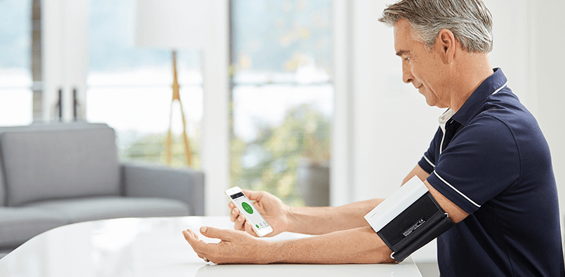 Wireless Blood Pressure Monitor iPhone - QardioArm