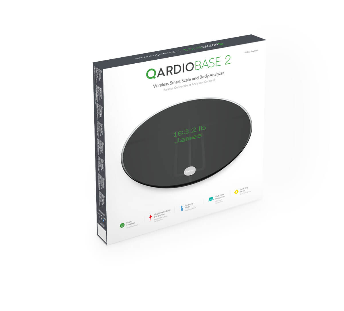 QardioBase Wi-Fi Smart Scale by Qardio