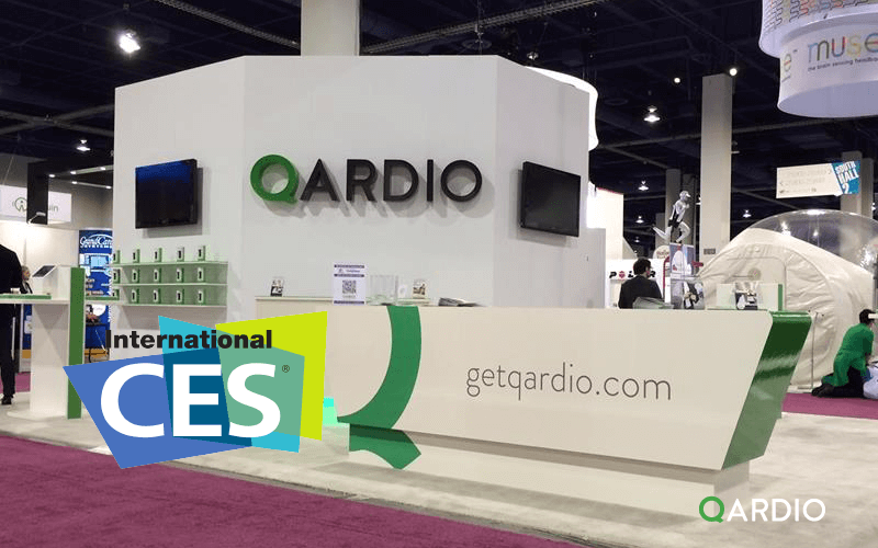 Qardio at the 2014 International CES