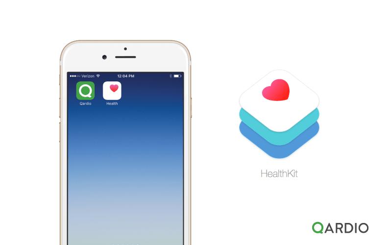 Qardio App introduces support for HealthKit