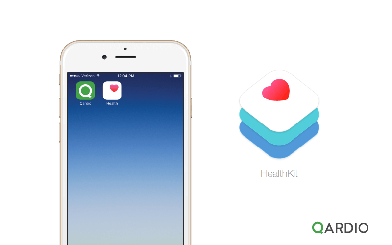 Qardio App introduces support for HealthKit