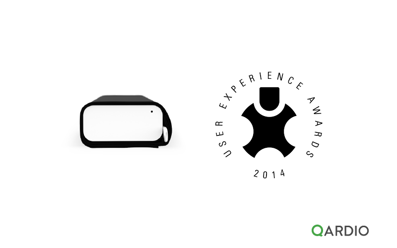 QardioArm wins Honorable Mention at the 2014 UX Awards