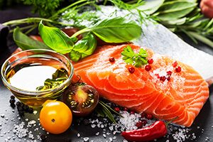 Healthy eating habits - how diet can affect your blood pressure - fish