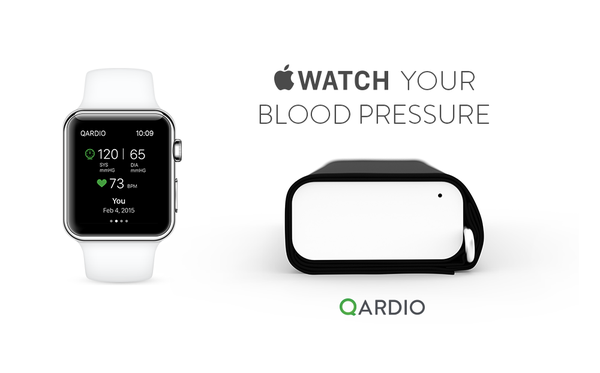 First medical device to work with apple watch