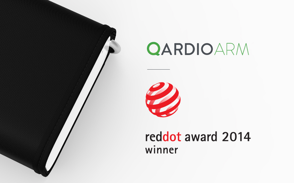 Qardio has been honored with a 2014 Red Dot Award for QardioArm