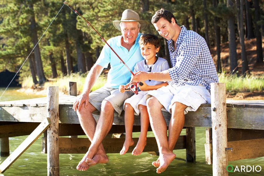 How QardioArm can help manage dad's blood pressure condition