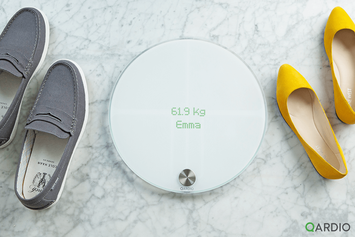 Why QardioBase is the best smart scale for your family