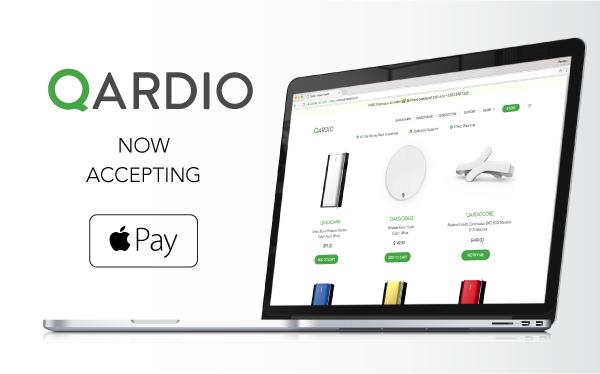 Qardio Now Accepting Apple Pay on Web - Qardio