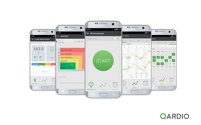 QardioArm now compatible with Android devices