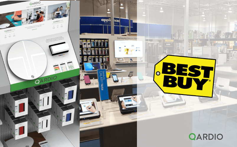 Qardio's digital health products now available at Best Buy Canada