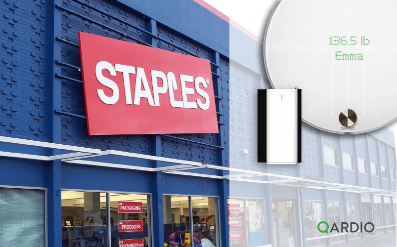 Qardio products now available at Staples in Canada