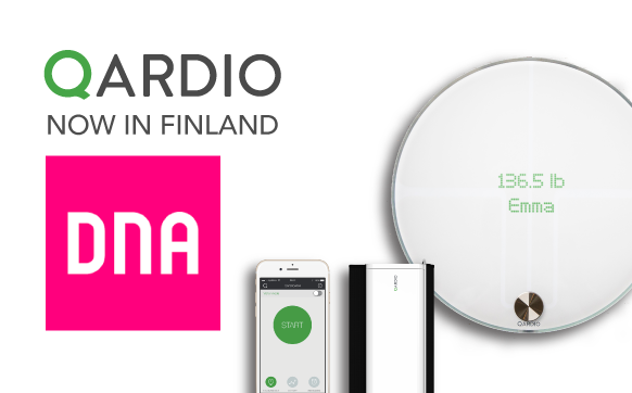 Qardio Partners with DNA to Offer Smart Health Products in Finland