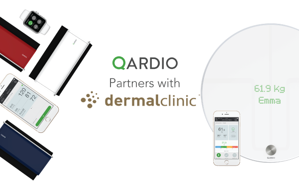 Qardio Partners with Dermal Clinic UK