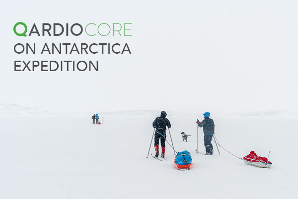 QardioCore & QardioArm Goes on Antarctica Expedition