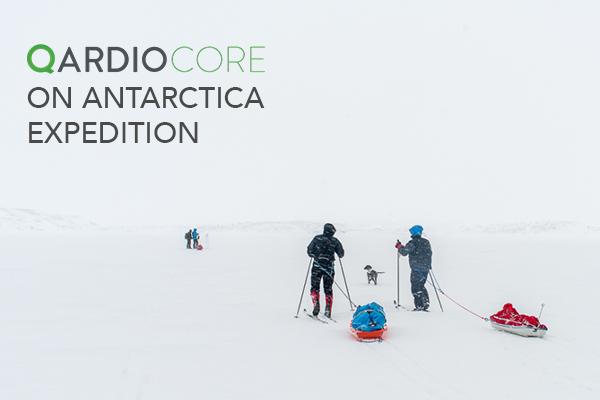 QardioCore Goes on Antarctica Expedition