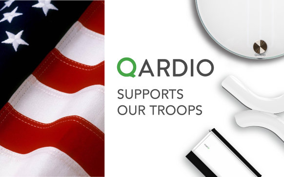 Qardio Announces Special Pricing For Veterans and Members of the Military