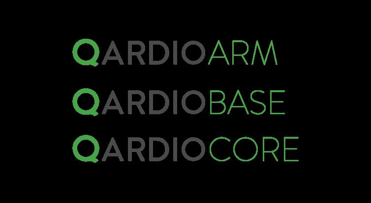 QardioArm, QardioBase, QardioCore logos