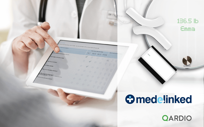 Qardio partners with U.K. personal health record platform, Medelinked