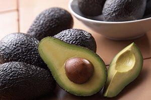 Nutrition food avocado