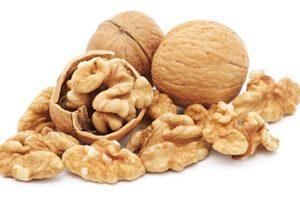 Nutrition food walnut