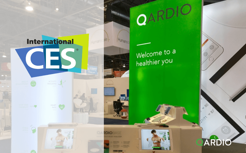 Qardio exhibits at CES 2017, CEO speaks at the Digital Health Summit