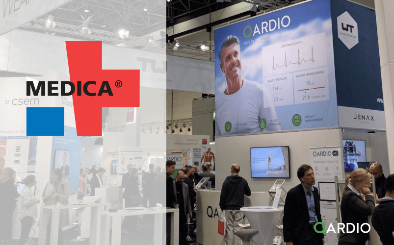 Qardio to exhibit at Medica 2016