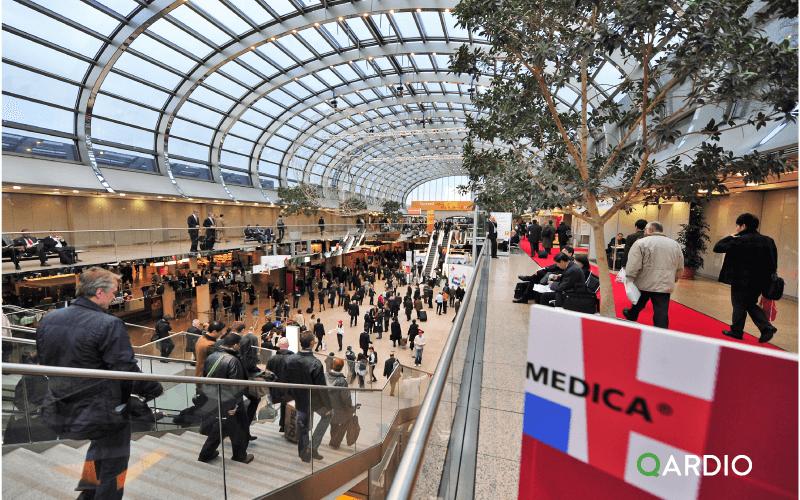 Qardio exhibiting at Medica 2015 in Dusseldorf