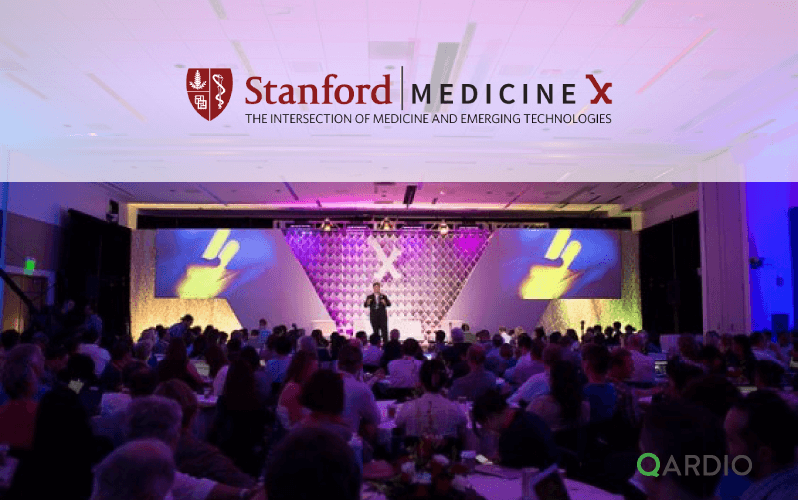 Qardio participating in Stanford MEDICINE X