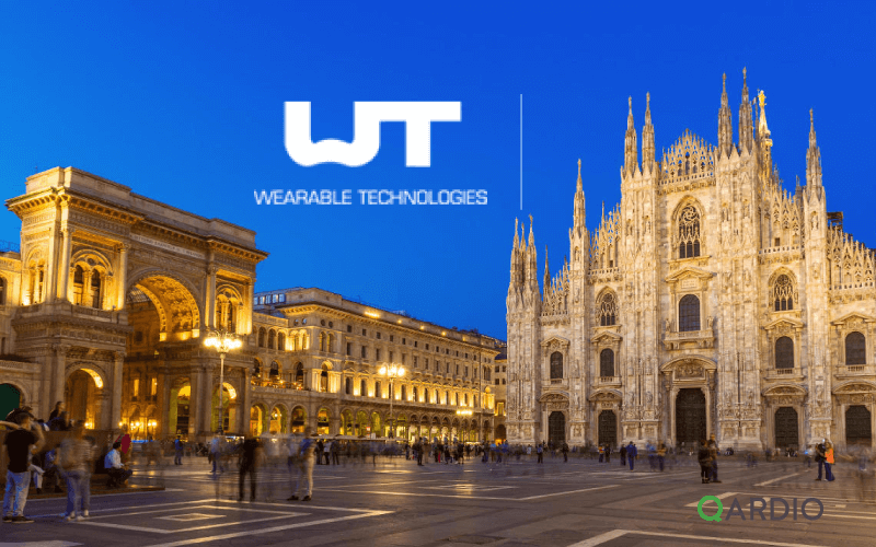 Qardio at the Wearable Technologies Conference in Milan