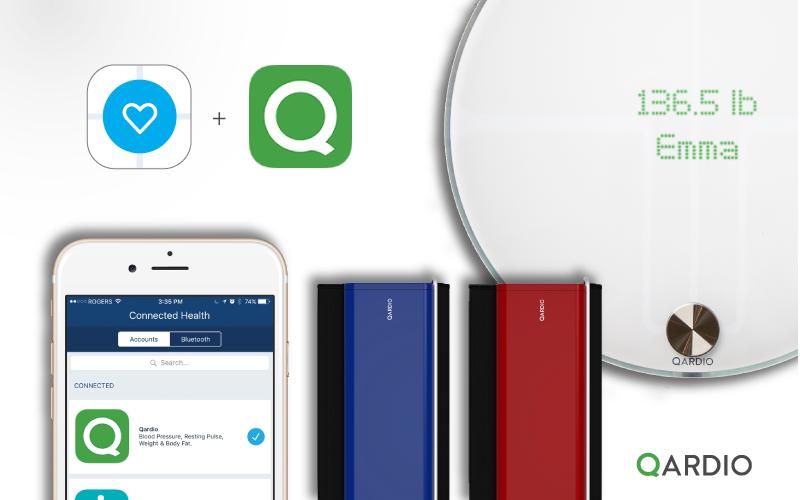 Qardio brings its smart health products to Tactio's global health platform