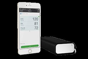 QardioArm smart blood pressure monitor