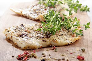 Delicious DASH diet sample menu for the summer - fish