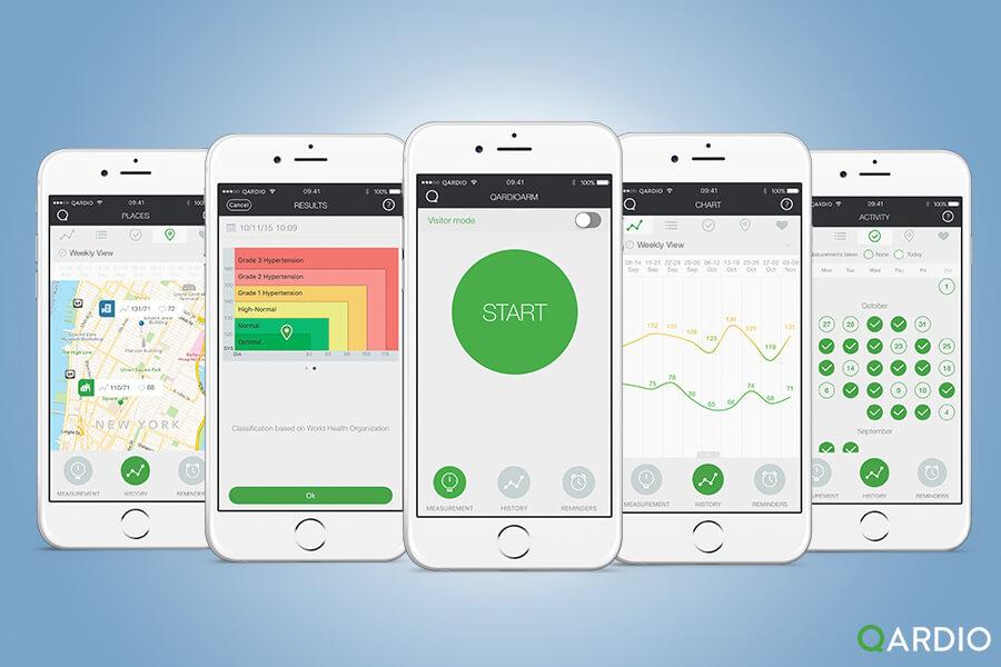 Qardioarm Blood Pressure App Features Our Users Love Qardio