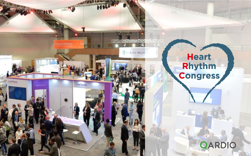 Qardio to exhibit at the Heart Rhythm Congress in Birmingham, UK