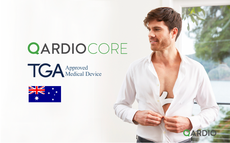 QardioCore ECG monitor receives TGA approval to launch in Australia