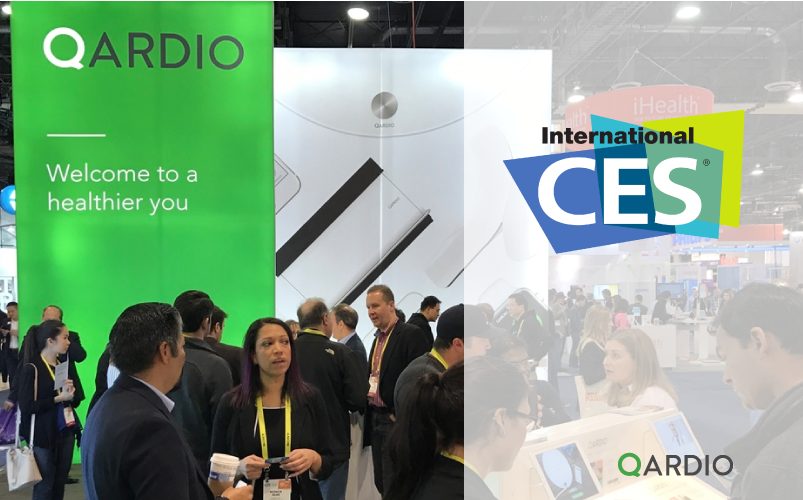Qardio to exhibit at CES 2018 and speak at Digital Health Summit