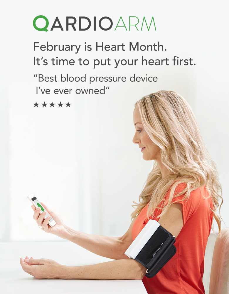 Wireless Blood Pressure Monitor iPhone Apple Watch - QardioArm