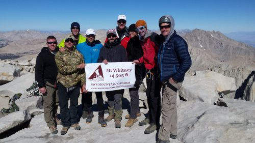 USX Expedition and Exploration summits Mt. Whitney with QardioCore