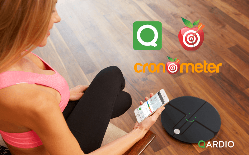 Qardio and Cronometer partner to help users achieve health goals