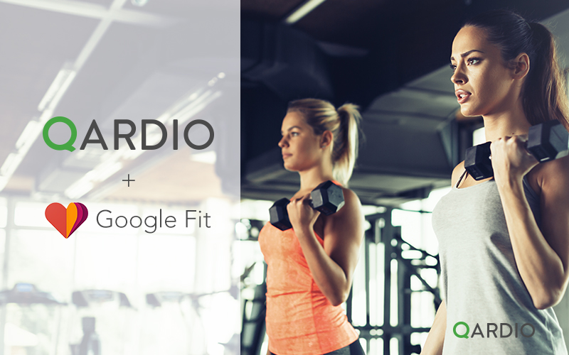 Qardio Android App now integrated with Google Fit
