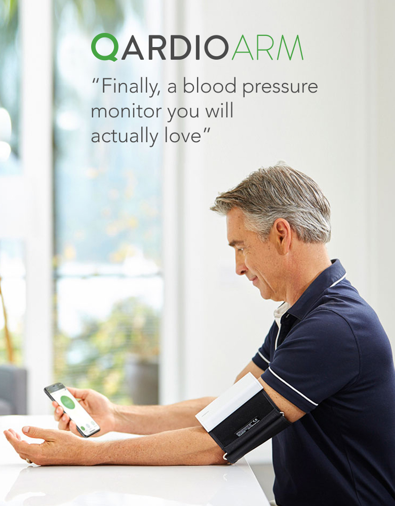 QardioArm - Wireless Blood Pressure Monitor iPhone Apple Watch