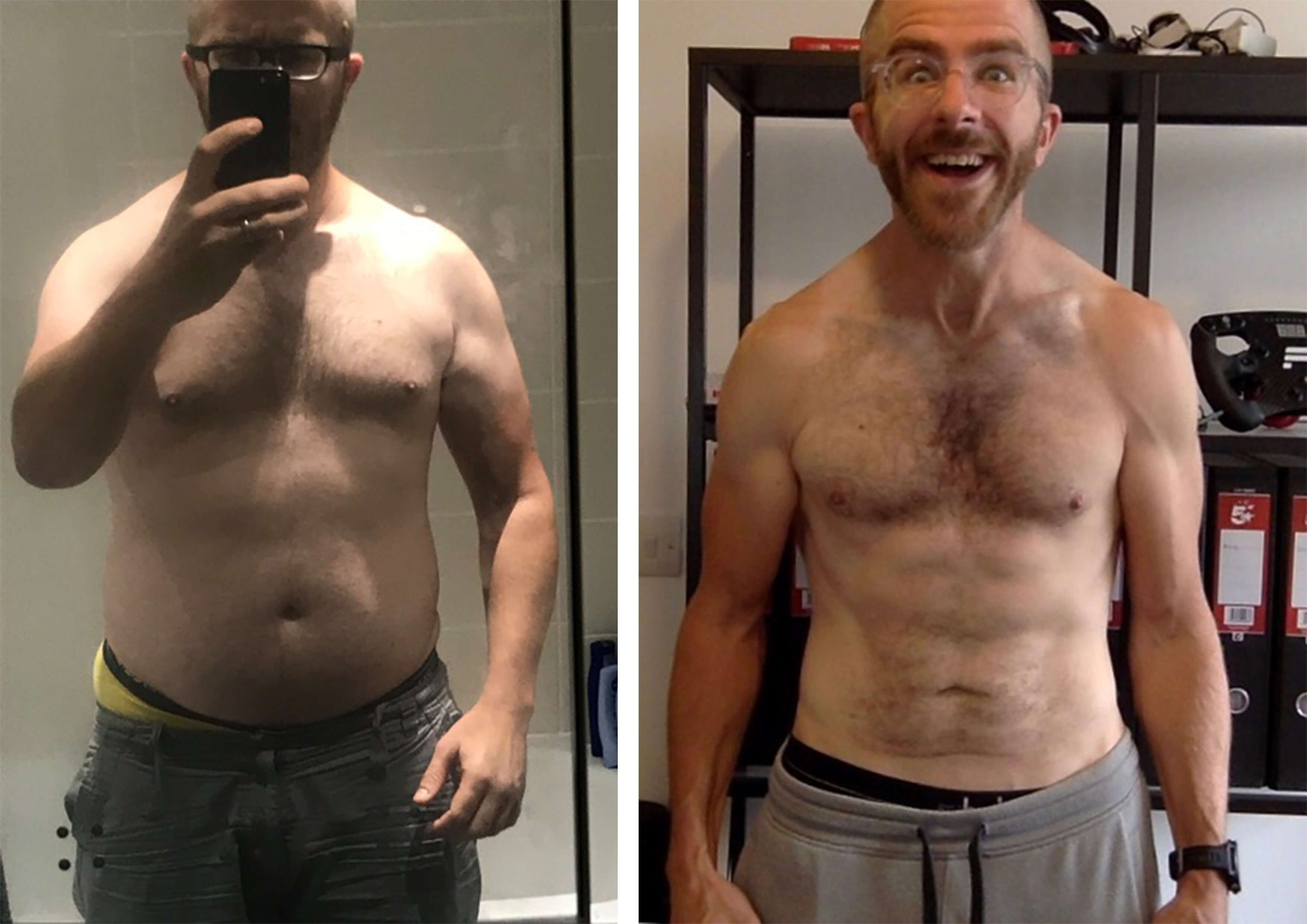 QardioBase User Before and After