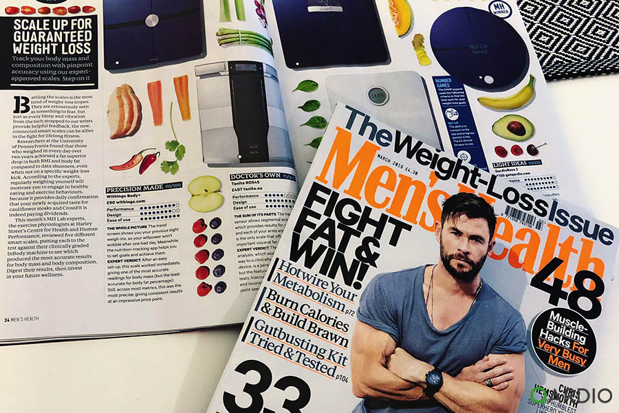 QardioBase 2 named best smart scale by Mens Health Magazine UK