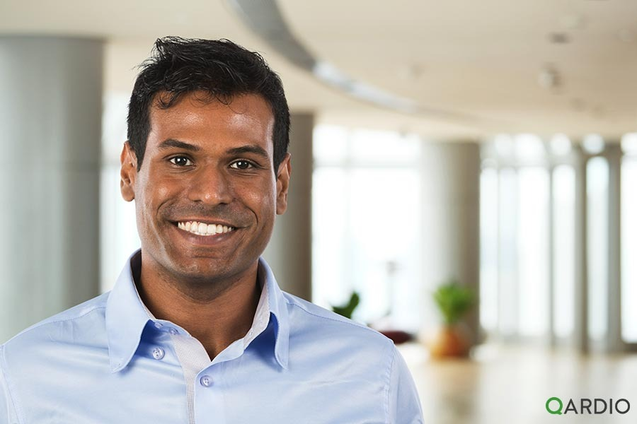 """""""Remote monitoring is pretty critical right now, if people want to stay safe at home."""" Mouli, Boston"""