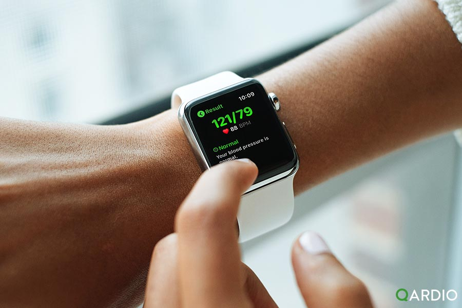 Qardio launches blood pressure monitoring app for Apple watch