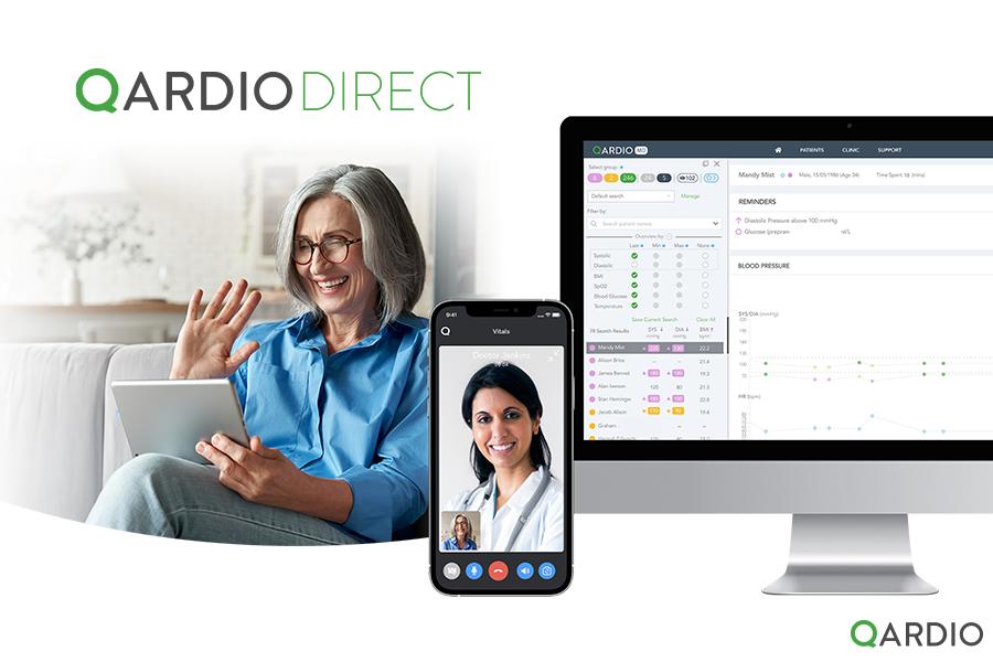 Qardio announces QardioDirect; the end-to-end Remote Patient Monitoring and telehealth service